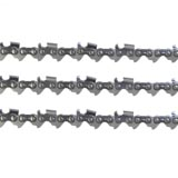 "3x Chains Semi Chisel 325 058 72DL 18"" Bar for select Partner Chainsaws"