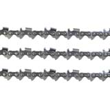 "3x Chainsaw Chains Semi Chisel 325 058 76DL for Baumr-Ag SX62 for 20"" bar"
