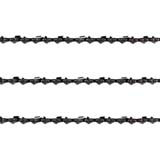 "3x Chainsaw Chains Semi 3/8 058 68DL for Solo Saw 18"" Bar 603 Etc"