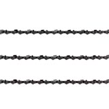 "3x Chainsaw Semi Chisel Chains 3/8LP 043 56DL for Select Makita with 16"" Bar"