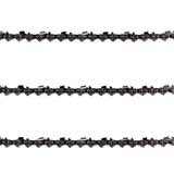 "3x Chainsaw Chains 3/8LP 050 56DL for select Makita with 16"" Bar"
