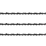 "3x Chainsaw Semi Chisel Chains 3/8LP 050 57DL for Ozito 16"" Bar PCS-406A Saw"