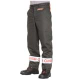 Clogger Safety Chainsaw Pants Trousers Chaps Protective Leg Cut Proof