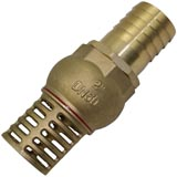 "Foot Valve with 2"" (50.8mm) BSP Female Thread Strainer Water Pump Hose Suction"