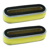 2x Top Mount Air Filter Cleaner for Honda GXV120 HRU194 HRU195 HRU214
