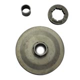 Chainsaw Sprocket Kit with Replaceable Rim for Baumr-Ag SX62 62cc Chainsaw