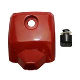 Air Filter Cover and Air Filter Knob for Baumr-Ag SX62 62cc Chainsaw Chain Saw