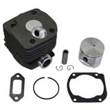 Piston & Cylinder Big Bore Assembly Kit For Husqvarna 362 365 371 372 372XP 52mm