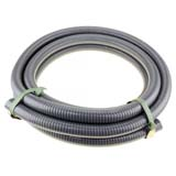 "5m x 1"" 25mm ID Suction Hose for Transfer High Pressure Fire Fighting Water Pump"