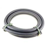 "5m x 3"" 76mm ID Suction Hose for Transfer High Pressure Fire Fighting Water Pump"