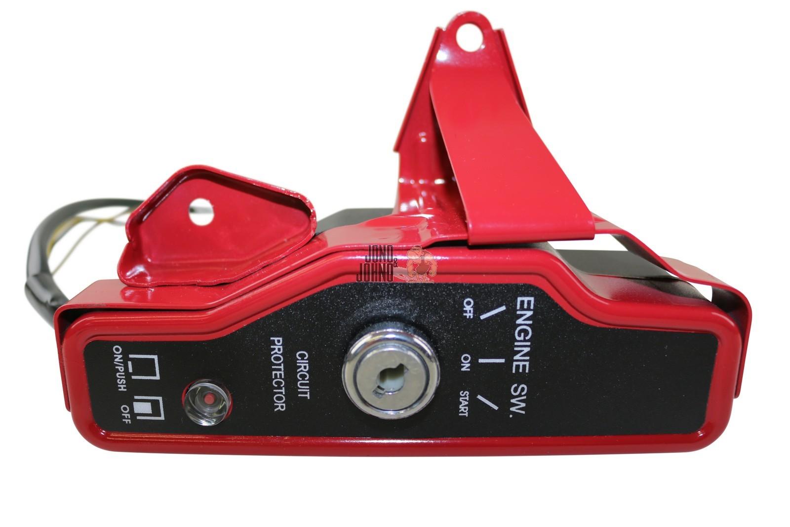 ignition switch key panel electric start 4 honda gx160 5. Black Bedroom Furniture Sets. Home Design Ideas
