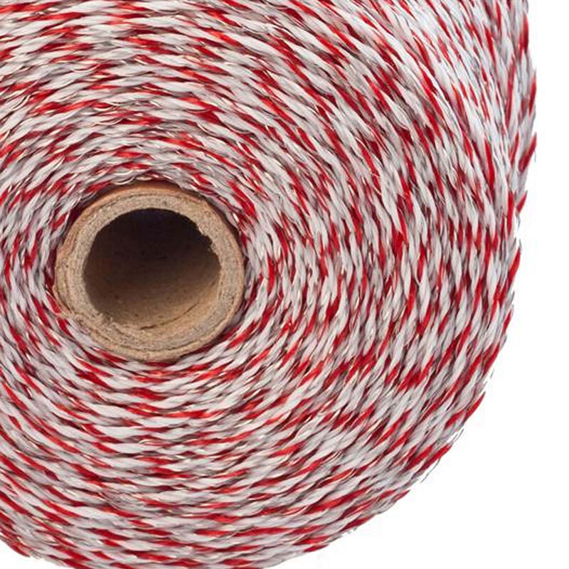1000m Roll Polywire for Electric Fence Fencing Kit Stainless Steel Poly Wire