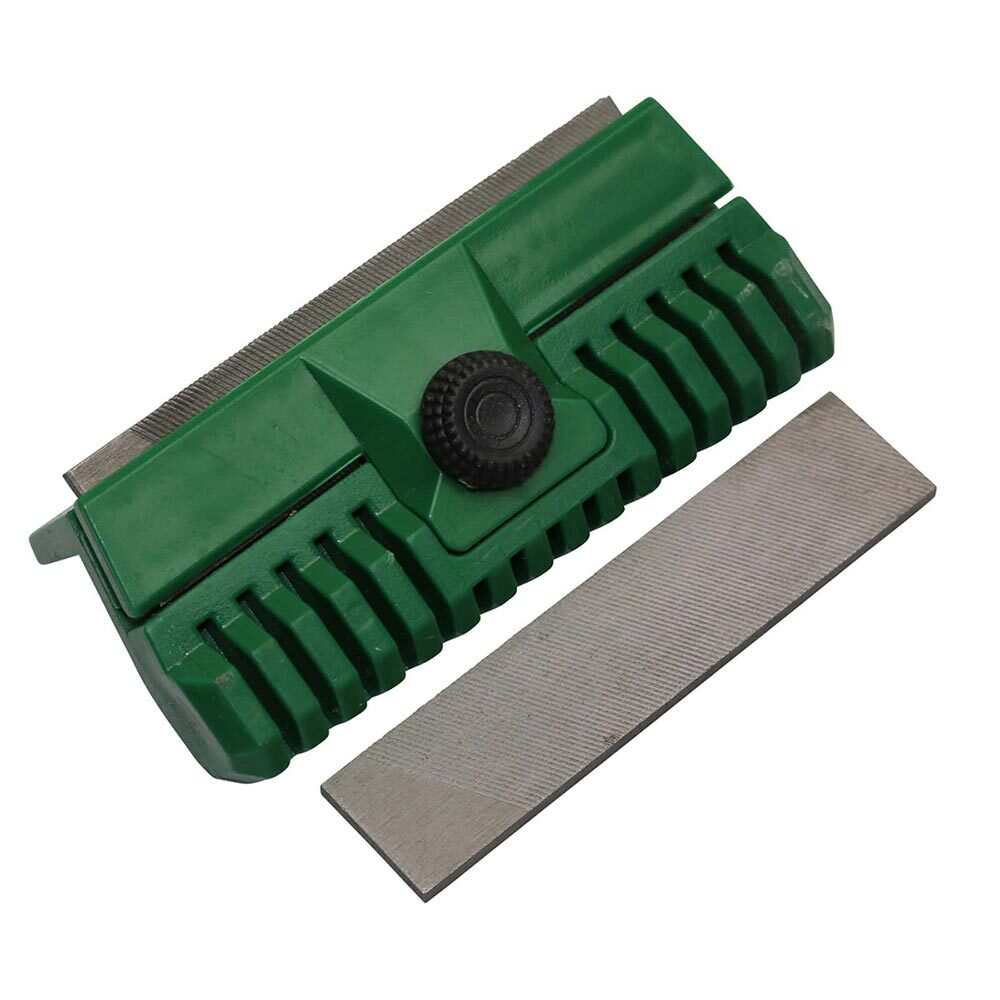 Chainsaw Chain Guide Bar Dresser with 2 Files