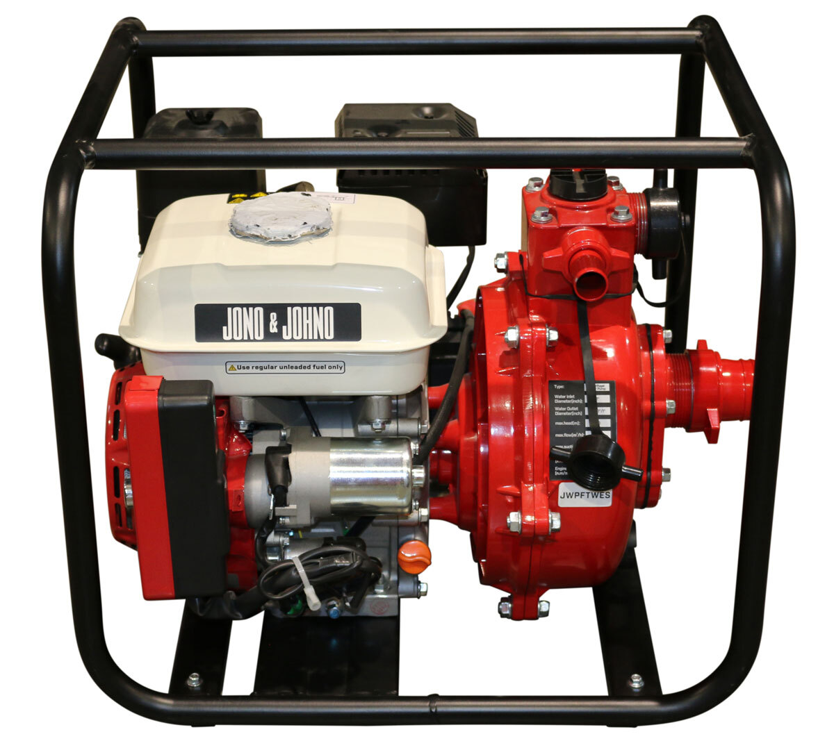 7HP Electric Start Twin Impeller Water Pump