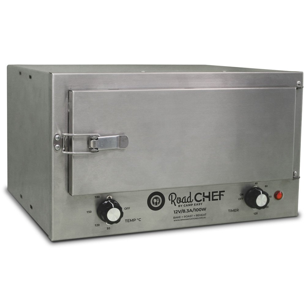Road Chef Stainless Steel 12V Portable Oven