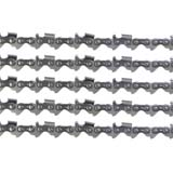 5x Chainsaw Chains Semi Chisel 325 058 76DL for Baumr-Ag SX62