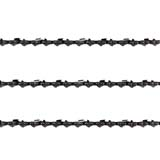"3x Chainsaw Chain Semi Chisel 3/8 058 67DL for 18"" Bar Saw Chains"