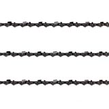"3x Chainsaw Chains Full Chisel 3/8 058 84DL for Husqvarna 24"" Bar 365 372 Etc"