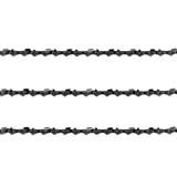 3x Semi Chisel Chain 3/8LP 043 52DL for Ozito PXCCSS-0182 18V Brushless Chainsaw