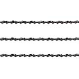 3x Semi Chisel Chains 3/8LP 050 56DL for Ryobi Electric 2300W Chainsaw RCS2340 B