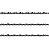 3x Chainsaw Semi Chisel Chains 3/8lp 050 40DL for Bbt Arborist 25cc Saw