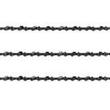 "3x Chainsaw Semi Chisel Chains 3/8LP 050 56DL for Ross 38cc 16"" Bar RGCS38CC"