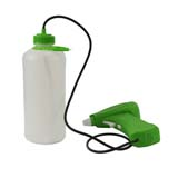 Battery Water Mist Weed Sprayer with 960ml Bottle Garden Chemical Spray unit