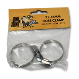 "2 X 21-44mm Hose Clamp For 1"" Hose"
