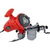 320W Electric Chainsaw Sharpener Grinder 240V Aluminium Base And Chain Holder