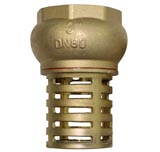 "3"" Brass Foot Valve and Strainer Only Water Pump Hose Suction"