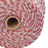 500m Roll Polywire for Electric Fence Fencing Kit Stainless Steel Poly Wire