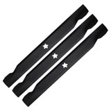 "x3 Bar Blades For 42"" Husqvarna Craftsman Ride On Lawn Mower YTH1542XP LTH1342"