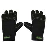 Anti Vibration Lawn Mower Brushcutter Gloves 4mm Gel