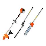 62cc Hedge Trimmer Pole Saw Chainsaw Brush Cutter Whipper Snipper Multi Tool