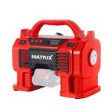 MATRIX 20V X-ONE Cordless Air Inflator Portable Pump Skin Only