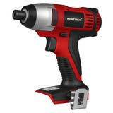 "MATRIX 20V X-ONE Cordless Impact Driver 1/4"" Skin Only"