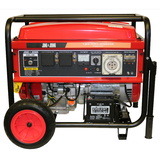 18HP 7.2KW Petrol Generator Single Phase 240v + 3 Phase 415v - Electric Start