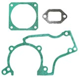 Gasket Set for Stihl 038 MS380 New Muffler Base and Crankcase Gaskets