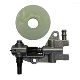 Oil Pump & Worm Drive Gear  for Baumr-Ag SX62 62cc Chainsaw