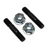2x Bar Nuts and 2x Bar Studs Bolts for GEN2 SX92 Baumr-Ag Chainsaw 92cc