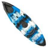 Pygme Nipper Kids Kayak 1.8m with 1 adjustable rod holder Blue Black White