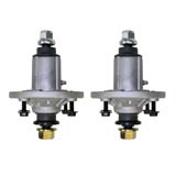 2x Blade Spindle Assemblies for John Deere 100 LA100 X100 Series Ride On Mowers