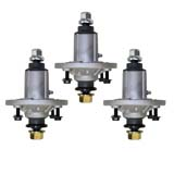 3x Blade Spindle Assemblies for John Deere 100 LA100 X100 Series Ride On Mowers