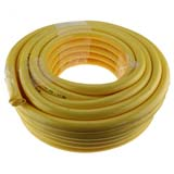 "30m x 1"" 25mm ID Outlet Wash Down Hose Water Pump Yellow"