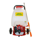 25L Weed Sprayer Petrol Engine  with Wheels Garden Chemical Spray New