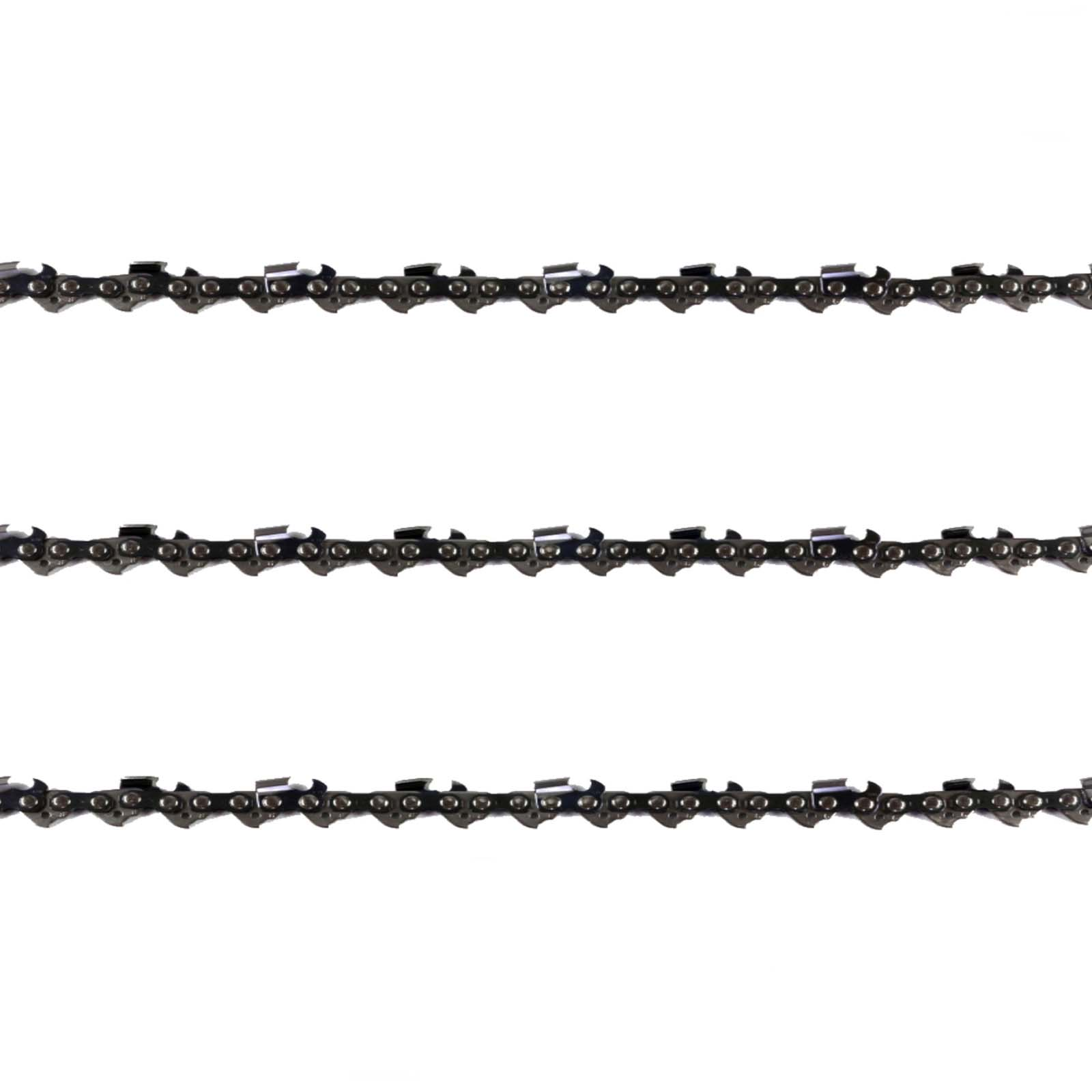 "3x Chainsaw Chains Full Chisel 3/8 063 60DL for Stihl 16"" Bar 034 038 066 MS660"