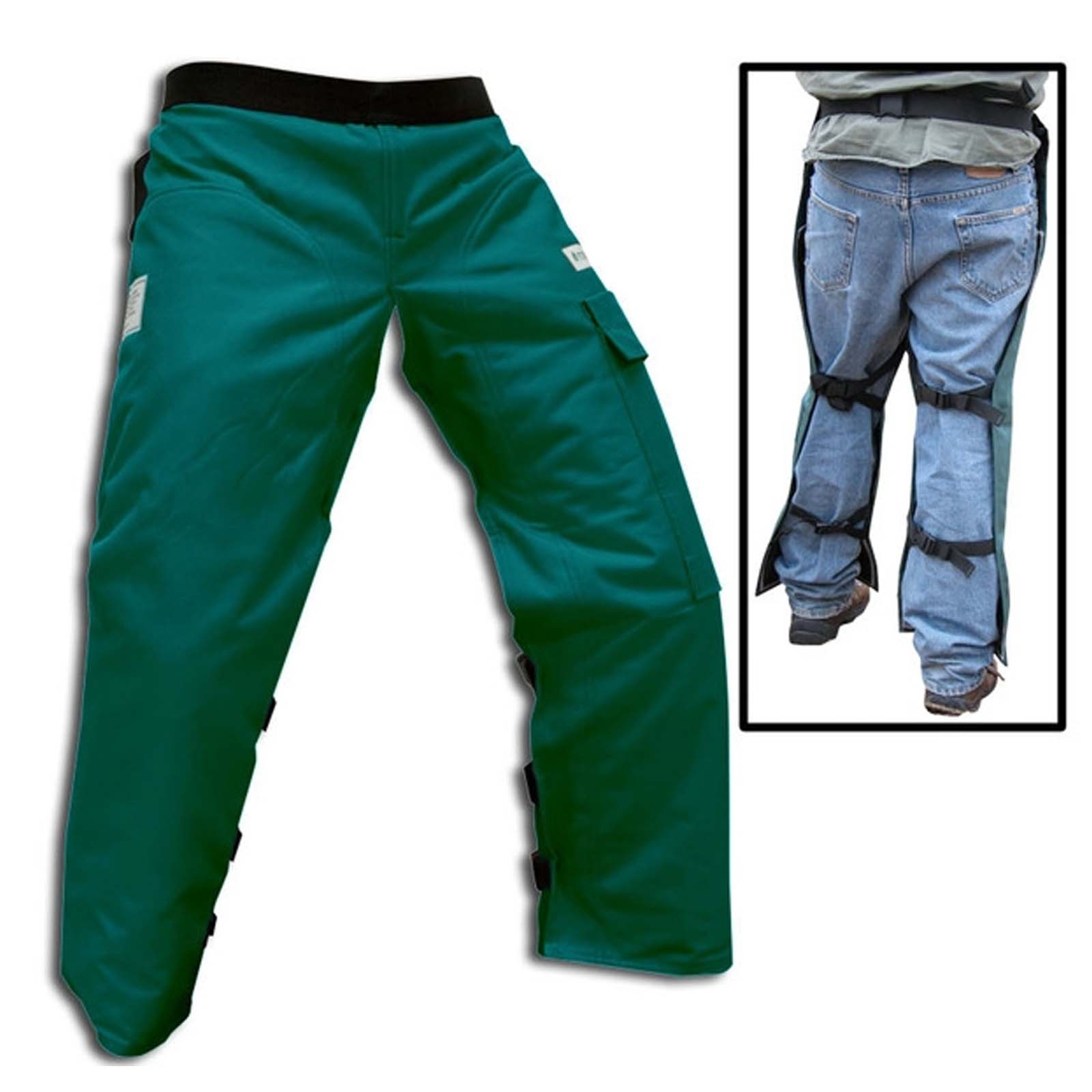 Chainsaw Safety Chaps - Protective Pants New Large 38""