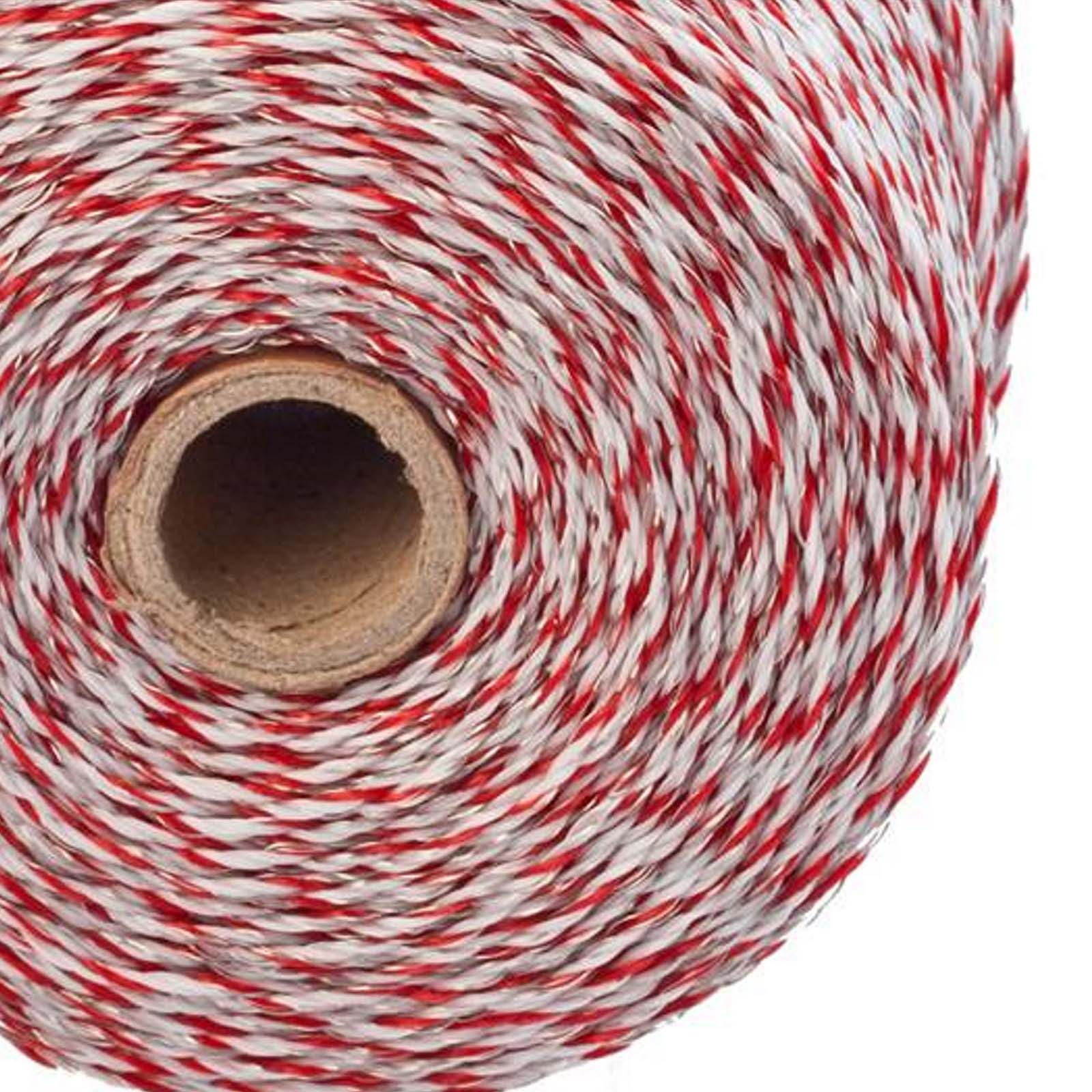 500m Roll Polywire 2.3mm for Electric Fence Fencing Kit Stainless Steel Poly Wire