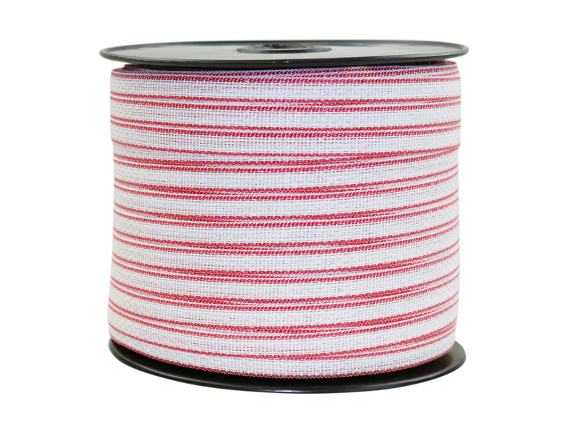 Polytape for Electric Fence Temporary Fencing Kit Stainless Steel Wire Poly Tape