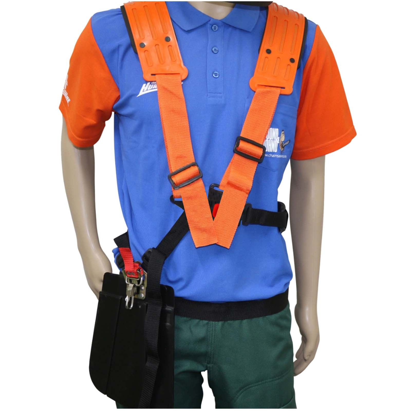 Professional Double Brushcutter Harness Fits Most Stihl Husqvarna Echo Shindawa